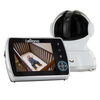 Levana LEVANA Keera 3.5 PTZ Digital Baby Video Monitor with Talk to Baby