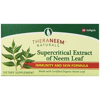Theraneem Supercritical Neem Gel Capsules, 60 Count