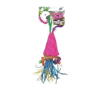 Prevue Hendryx Tropical Teasers Bird Toy Color: Firecracker, Size: 3