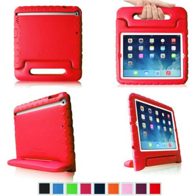 Fintie Light Weight Shock Proof Convertible Handle Stand Cover Case Kids Friendly for Apple iPad Air / iPad 5, Red