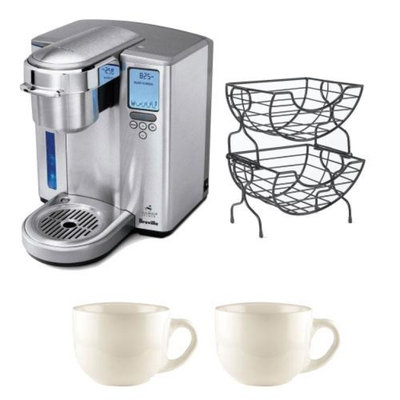 Breville BKC700XL Gourmet Single Serve Coffeemaker/Iced Beverage Function and Ni