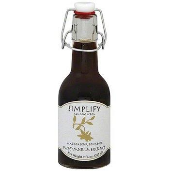 Simplify Madagascar Bourbon Pure Vanilla Extract