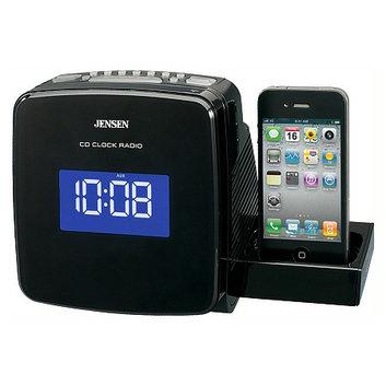 Jensen Docking Digital CD Clock Radio for iPod & iPhone JIMS-215I