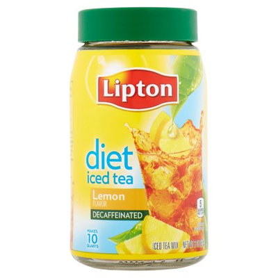 Lipton® Decaffeinated Diet Lemon Iced Tea