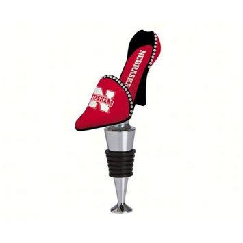 University of Nebraska High-Heel Shoe Bottle Stopper