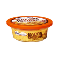 Alouette Bacon Cheddar Flavored Soft Spreadable Cheese