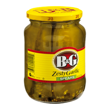 B&G Zesty Garlic Spears