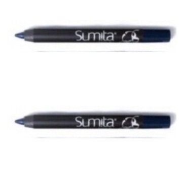 Pacifica Summit Raina Color Contrast Eye Liner, Blue, Pack of 2, Travel Size