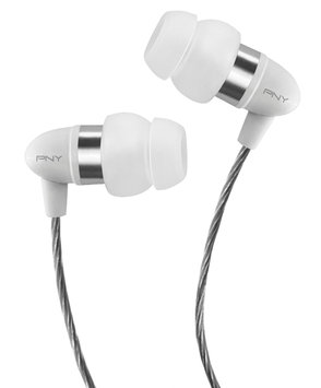 Pny PNY Uptown 200 Series Earphone with Apple Controller - White