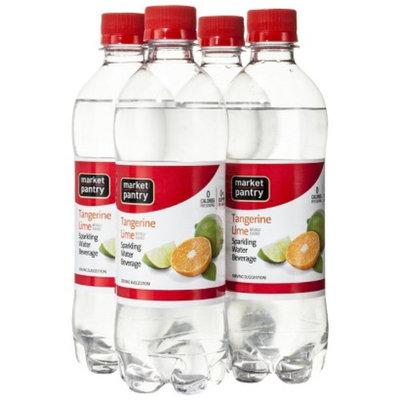 Market Pantry 4-pk. Tangerine Lime Sparkling Water Beverage 16.9-oz.