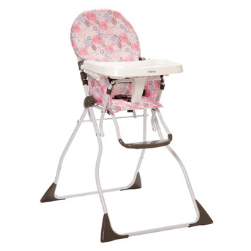 Cosco Slim Fold High Chair Casey Pink