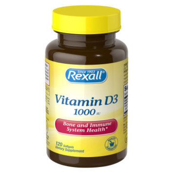 Rexall Vitamin D3 - Softgels, 120 ct