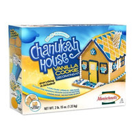 Manischewitz Do-It-Yourself Chanukah House Vanilla Cookie Decorating Kit - Net Wt. 2lb. 15oz(1.33 kg)
