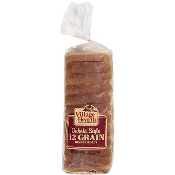 Village Hearth Dinner Style 12 Grain Rolls, 16 oz