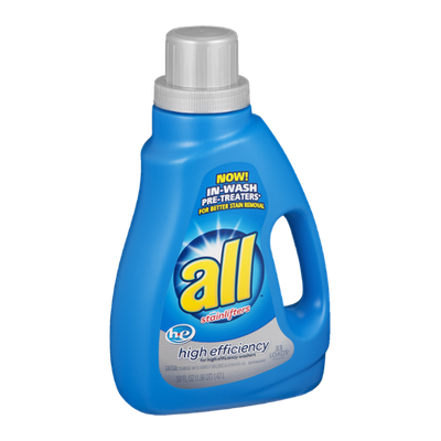 All with Stainlifters High Efficiency Detergent - 33 Loads