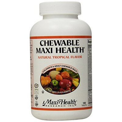 Maxi Chewable Maxi Health, Tropical, 180 Tablets