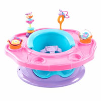 Summer Infant Superseat- Refresh, Pink Happiness, 1 ea