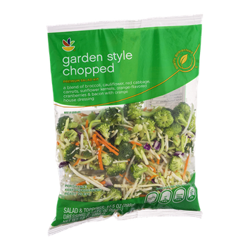 Ahold Premium Chopped Salad Kit Garden Style