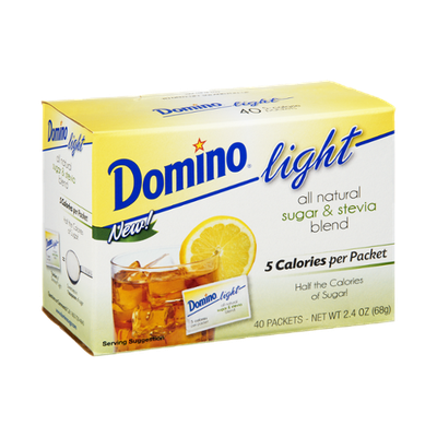 Domino Light All Natural Sugar & Stevia Blend
