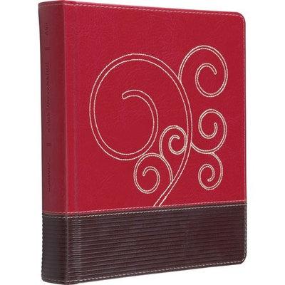 ESV Journaling Bible (Trutone, Raspberry/Chocolate, Flourish Design)