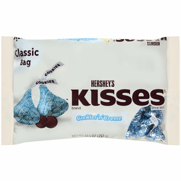 Hershey's Cookies N Creme Kisses
