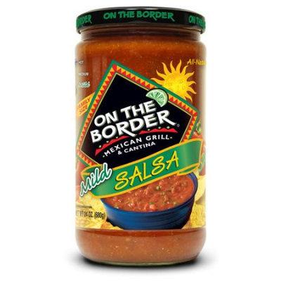 Truco Enterprises Lp. On The Border Mexican Grill & Cantina Mild Salsa, 24 oz