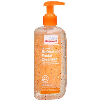 Walgreens Refresh Facial Cleanser, 8 oz