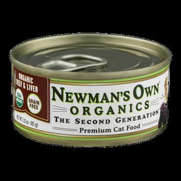 Newman's Own Organics Organic Beef & Liver Premium Cat Food