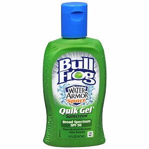 Bull Frog Water Armor Sport Quik Gel Sunscreen