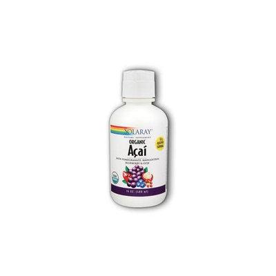 Organic Acai Juice Solaray 16 oz Liquid