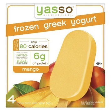 Yasso Mango Greek Frozen Yogurt 4 ct