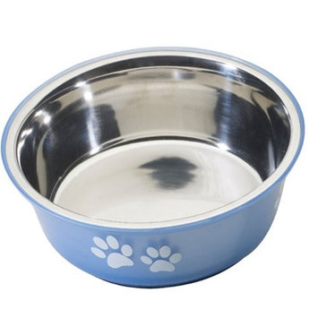 Ethical Pet Products (Spot) DSO6124 32-Ounce Fusion Designer Stainless Steel Dog Bowl, Medium, Blue