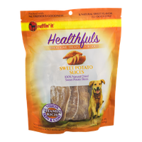 Ruffin' it Healthfuls Wholesome Treats for Dogs Sweet Potato Slices