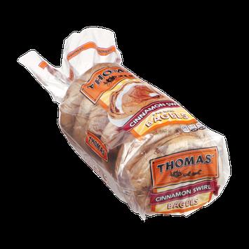 Thomas' Bagels Cinnamon Swirl - 6 CT