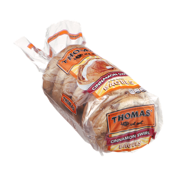 Thomas' Bagels Cinnamon Swirl - 6 CT