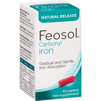 Feosol Natural Release Carbonyl Iron Supplement Caplets