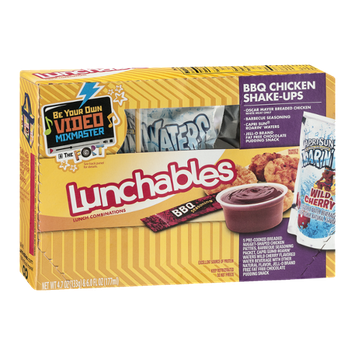 Lunchables Bbq Chicken Shake-ups
