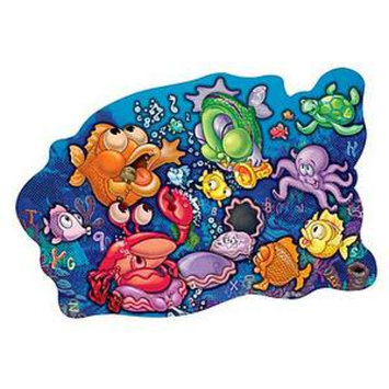 Patch Products 3D Sneaky Floor Puzzle Singin' Sea Creatures 46 Jumbo Pieces Ages 3+, 1 ea