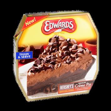 Edwards Hershey's Special Dark Chocolate Creme Pie with a Chocolatey Cookie Crust