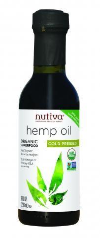 Nutiva Organic Hemp Oil 8 fl oz