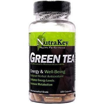 Nutrakey Green Tea Extract 350Mg 100Vca