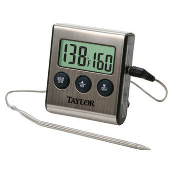 Taylor Digital Timer Thermometer with Probe