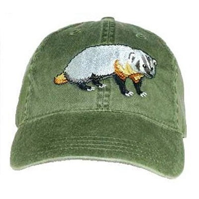 Tom's Bird Feeders Badger Embroidered Cotton Cap