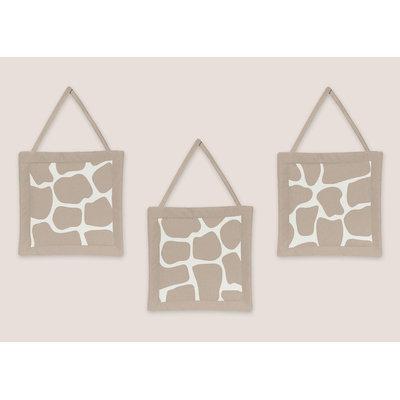 Sweet Jojo Designs Giraffe Collection Wall Hangings