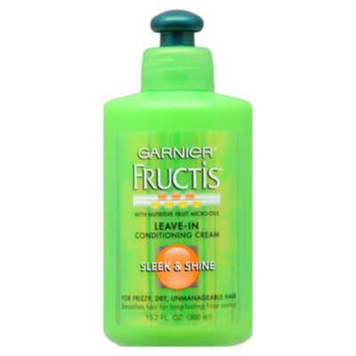 Garnier Fructis Sleek & Shine Leave-In Conditioner, 10.2 oz