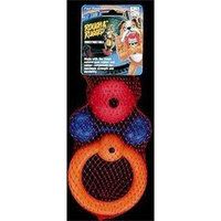 Four Paws Rough and Rugged 3 Piece Fun Pack Dog Chew Toys