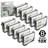 LD© Epson Remanufactured T200XL120 pack of 10 High Yield Ink Cartridges: 10 Black T200XL120 for use in Epson Expression XP-200, XP300, XP-310, XP-400, XP-410, WorkForce WF-2520, WF-2530 & WF-2540