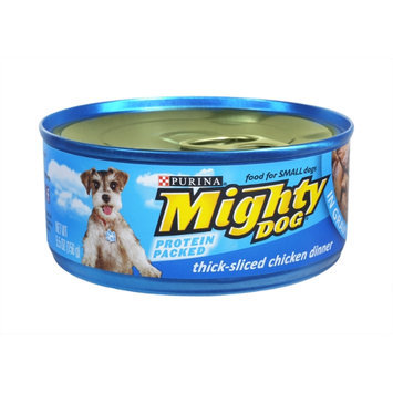Purina Mighty Dog Thick- Sliced Chicken Dinner In Gravy