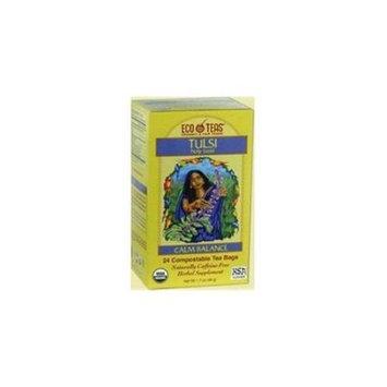 Eco Teas B22686 Eco Teas Tulsi -6x24 Bag