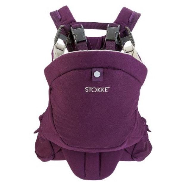 Stokke Mycarrier 3 In 1 Baby Carrier Purple